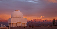 Sunset on Curtis telescope